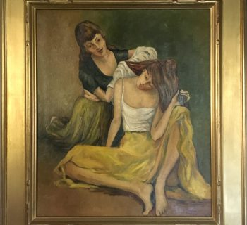 Feature Lot Raphael Soyer Painting