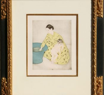 Mary Cassatt (After) Etching