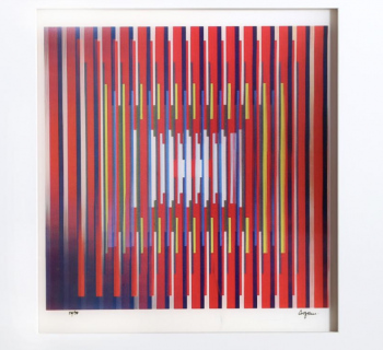 Yaacov Agam - In Deep Prayer