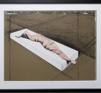 Christo Wrapped Woman Print