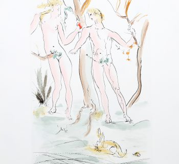 Salvador Dali, Adam et Eve